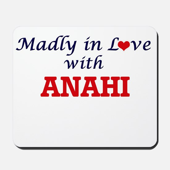 Madly in Love with Anahi Mousepad