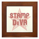 Stamp Diva Framed Tile