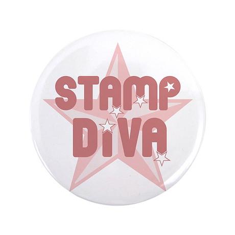 "Stamp Diva 3.5"" Button"