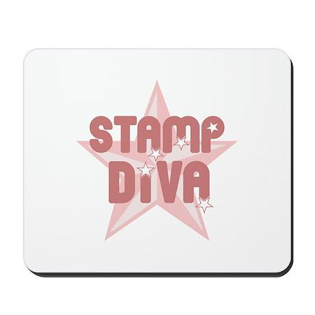 Stamp Diva Mousepad