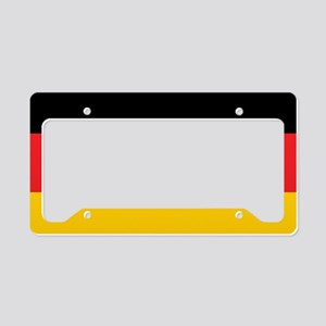 German Tricolor Flag in Black Red and Yellow Licen