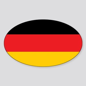 German Tricolor Flag in Black Red and Yellow Stick