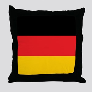 German Tricolor Flag in Black Red and Yellow Throw