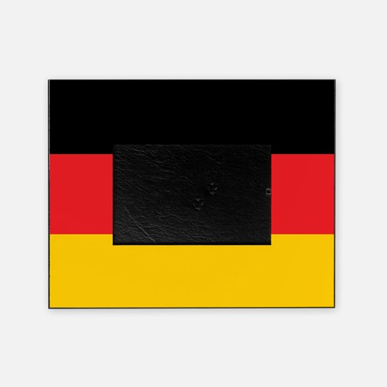 German Tricolor Flag in Black Red and Yellow Pictu