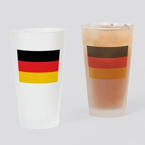 German Tricolor Flag in Black Red and Yellow Drink