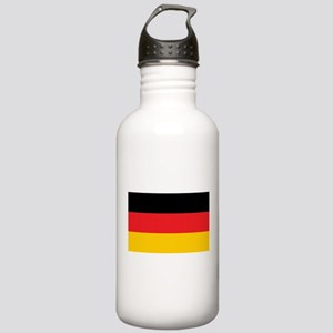 German Tricolor Flag in Black Red and Yellow Water