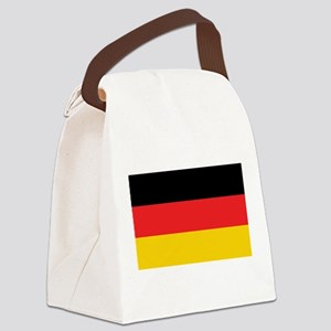 German Tricolor Flag in Black Red and Yellow Canva