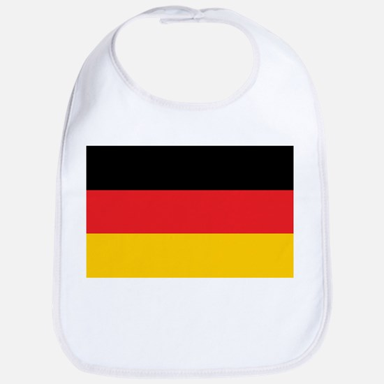 German Tricolor Flag in Black Red and Yellow Bib