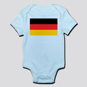 German Tricolor Flag in Black Red and Yellow Body