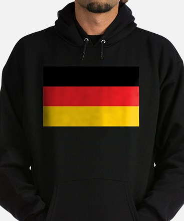 German Tricolor Flag in Black Red and Yellow Hoodi