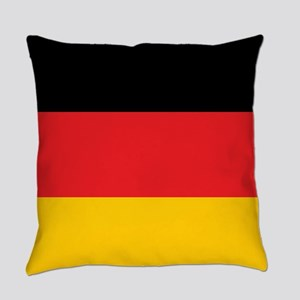 German Tricolor Flag in Black Red and Yellow Every