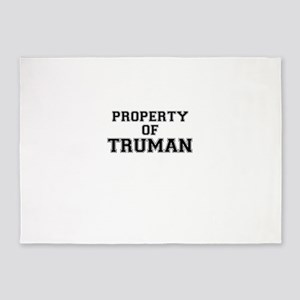 Property of TRUMAN 5'x7'Area Rug