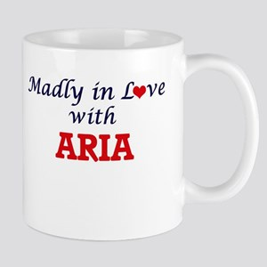 Madly in Love with Aria Mugs