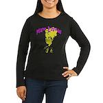 Marie Laveau Women's Long Sleeve Dark T-Shirt