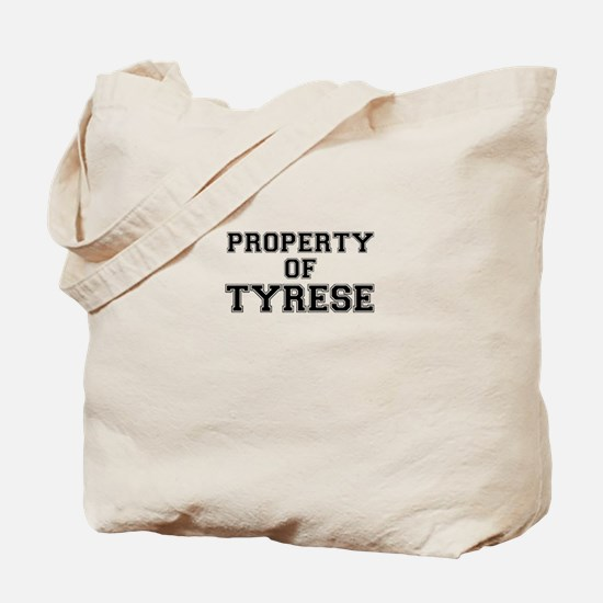 Property of TYRESE Tote Bag