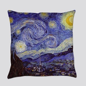 Vincent Van Gogh Starry Night Everyday Pillow
