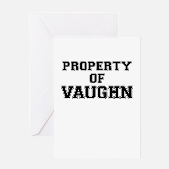 Property of VAUGHN Greeting Cards