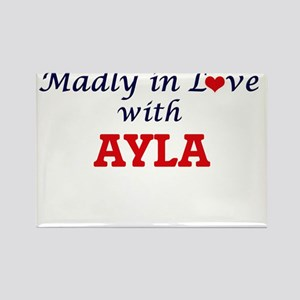 Madly in Love with Ayla Magnets