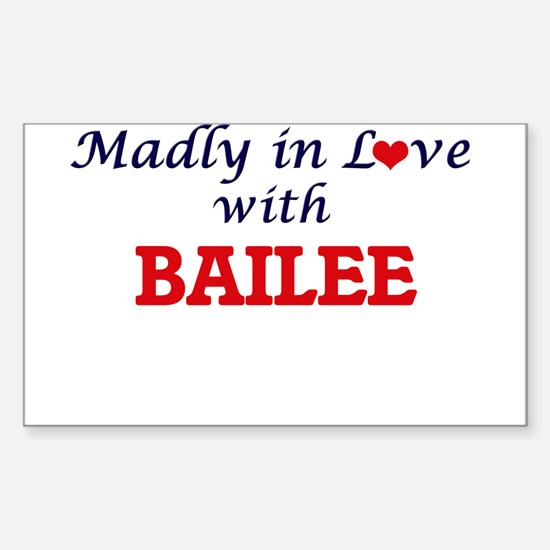 Madly in Love with Bailee Decal