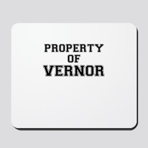 Property of VERNOR Mousepad