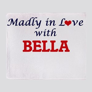 Madly in Love with Bella Throw Blanket