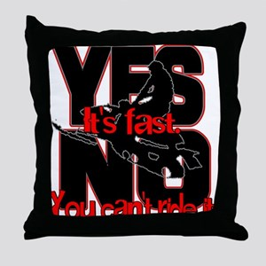 Yes It's Fast - No You Can't Throw Pillow