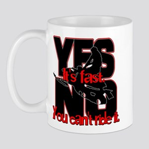 Yes It's Fast - No You Can't Mug