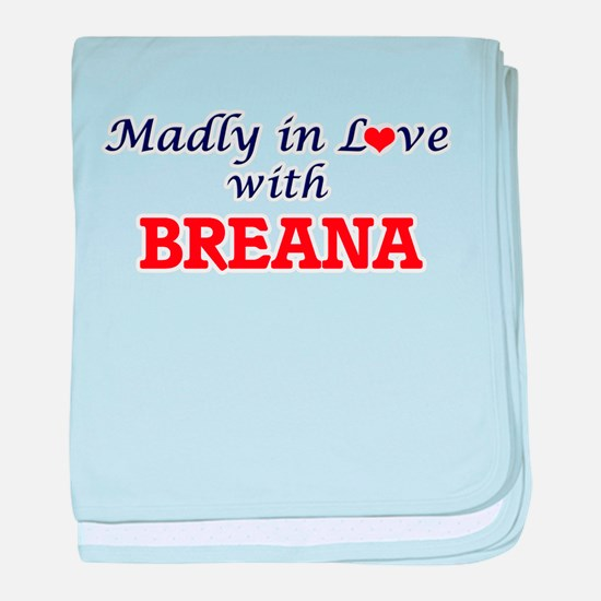 Madly in Love with Breana baby blanket