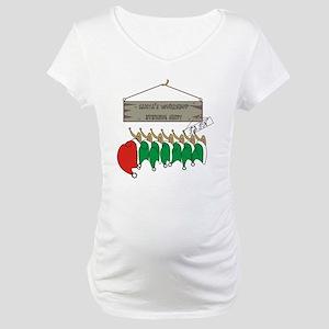 Santa's Workshop Maternity T-Shirt