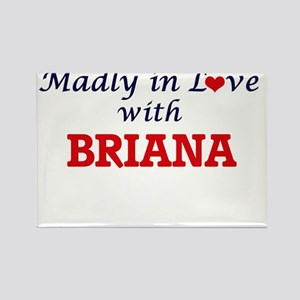 Madly in Love with Briana Magnets