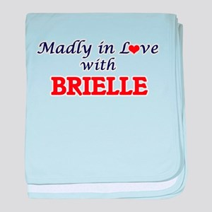 Madly in Love with Brielle baby blanket