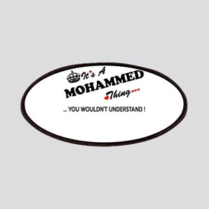 MOHAMMED thing, you wouldn't understand Patch