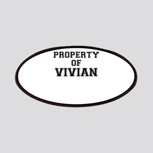 Property of VIVIAN Patch
