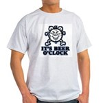 BEER O'CLOCK Ash Grey T-Shirt