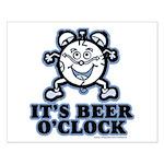 BEER O'CLOCK Small Poster