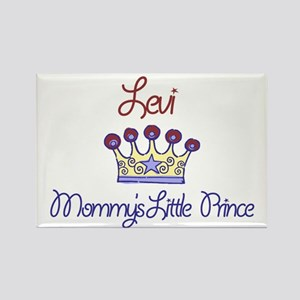 Levi - Mommy's Little Prince Rectangle Magnet