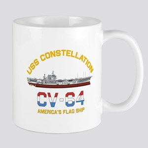 America's Flag Ship Mugs