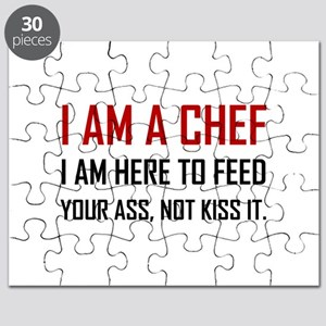 Chef Feed Not Kiss Puzzle