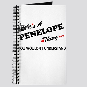 PENELOPE thing, you wouldn't understand Journal