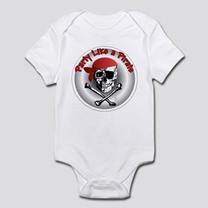 Party like a Pirate Infant Bodysuit