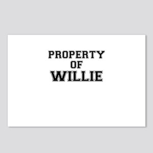 Property of WILLIE Postcards (Package of 8)