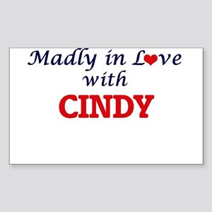 Madly in Love with Cindy Sticker