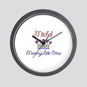 Mitchell - Mommy's Little Pri Wall Clock