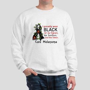 For Fighters Survivors Taken Melanoma Sweatshirt