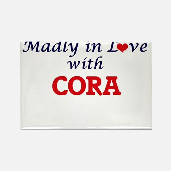 Madly in Love with Cora Magnets