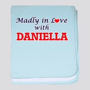 Madly in Love with Daniella baby blanket