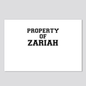 Property of ZARIAH Postcards (Package of 8)