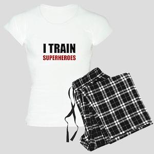 I Train Superheroes Pajamas
