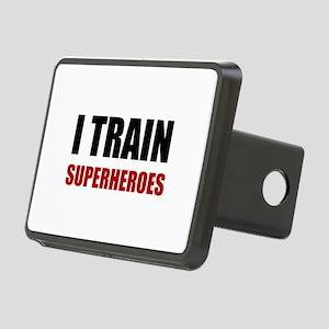 I Train Superheroes Hitch Cover