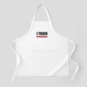I Train Superheroes Light Apron
